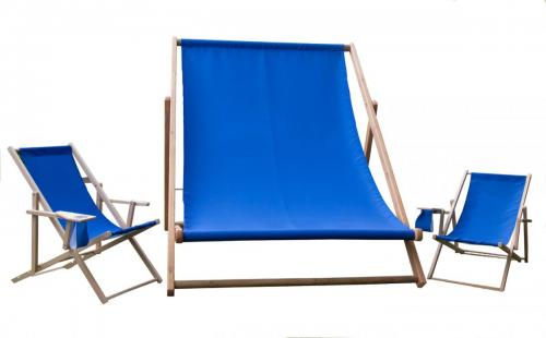 Big deckchair