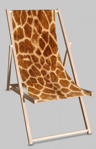 Giraffe deckchair