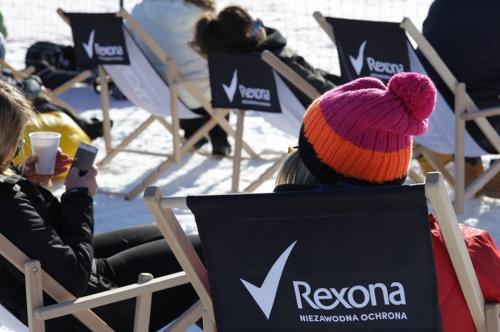 Rexona deckchairs