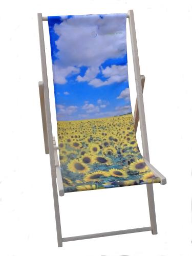 Sunflowers deckchair